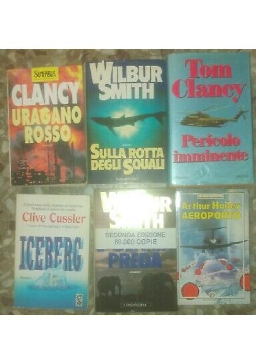 40 ROMANZI Ken Follet Tom Clancy Richard Bach Robert Ludlum Patrick Robinson