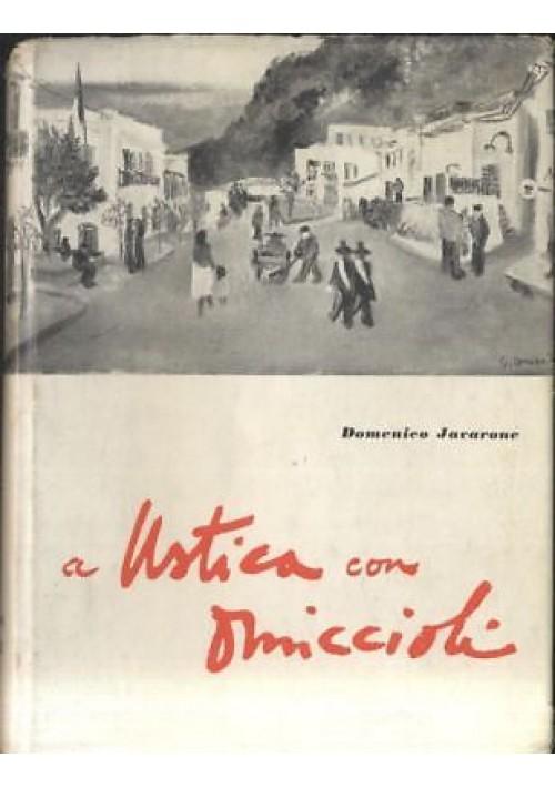 A USTICA CON OMICCIOLI di Domenico Javarone 1958 edizioni Gielle