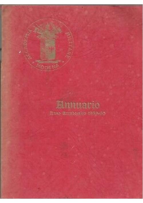ACCADEMIA MILITARE MODENA annuario anno accademico 1959 1960