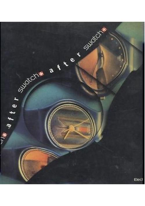 AFTER SWATCH Electa  editore 1991 orologio COLLEZIONE