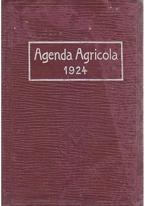 AGENDA AGRICOLA per l'anno 1924 a cura della Montecatini