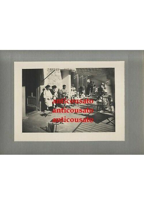 ALBUM SERVIZIO ASSISTENZA MATERNITà E INFANZIA ASCOLI PICENO 1930 FOTOGRAFIE