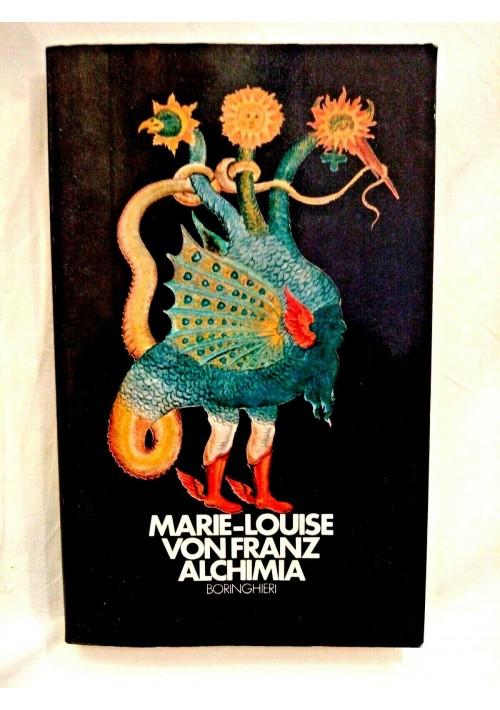 ALCHIMIA di Marie Louis von Franz 1984 Boringhieri
