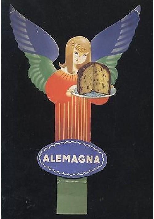 ALEMAGNA Lucien Bertaux angelo angioletto pop up anni '50 pubblicità advertising