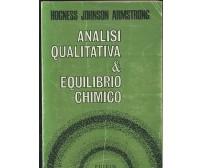 ANALISI QUALITATIVA E EQUILIBRIO CHIMICO Hogness Johnson Armstrong 1972 Piccin