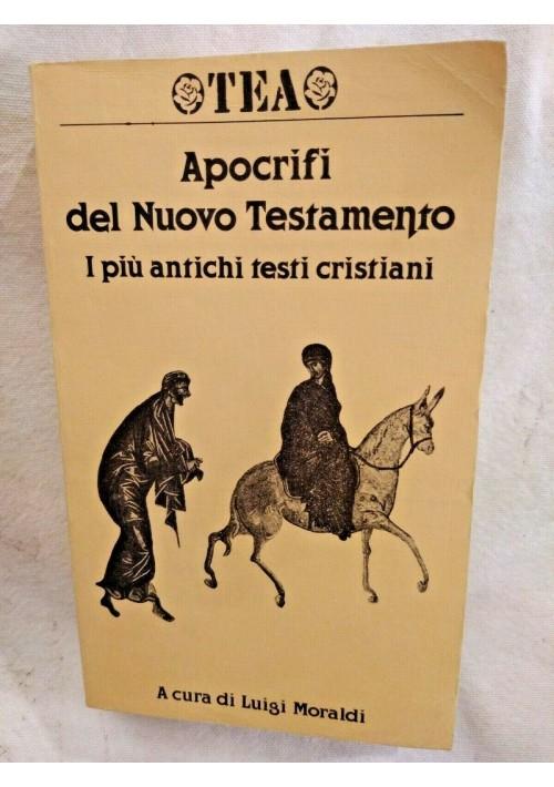 APOCRIFI DEL NUOVO TESTAMENTO di Luigi Moraldi 1989 TEA