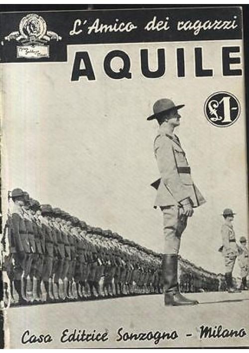 AQUILE con foto tratte dal film MGM 1936 Sonzogno racconto cinematografico
