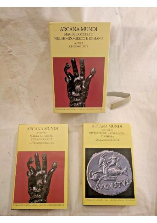 ARCANA MUNDI di Georg Luck 1998 Mondadori magia e occulto nel mondo greco romano
