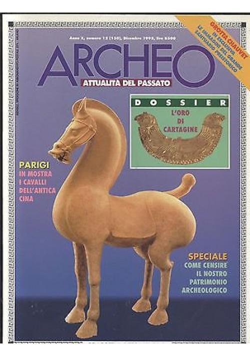 ARCHEO attualità del passato 1995 annata completa 12 numeri De Agostini Rizzoli