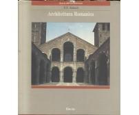 ARCHITETTURA ROMANICA di H. E. Kubach 1989 Electa editore