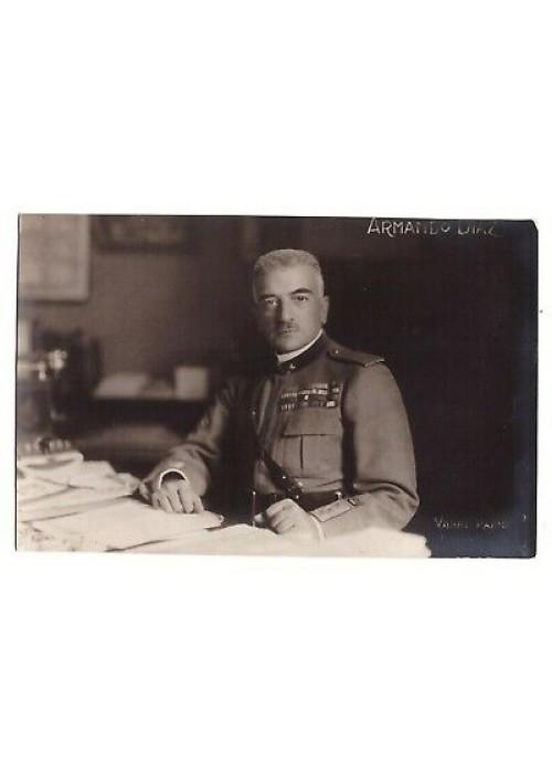 ARMANDO DIAZ Cartolina non viaggiata Luigi Vaghi Parma presum. anni '20
