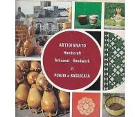 ARTIGIANATO IN PUGLIA E BASILICATA  Carlo Bestetti Edizioni d'Arte 1974 299 Pagi