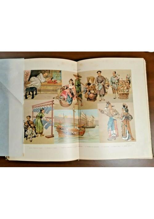ASIA 2 volumi di De Gubernatis - Vallardi I Popoli del Mondo Usi e Costumi 1913?