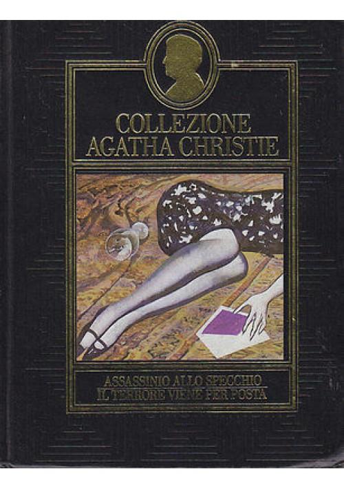 ASSASSINIO ALLO SPECCHIO - IL TERRORE VIENE PER POSTA di Agatha Christie CDE