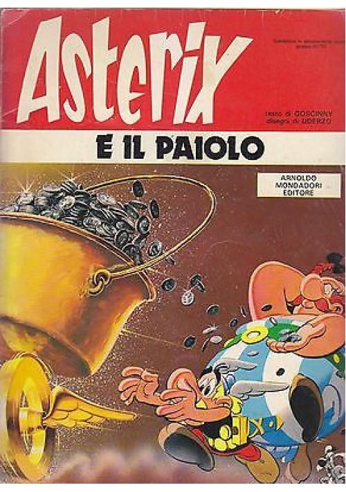 ASTERIX E IL PAIOLO di Goscinny e Uderzo - Edizione MONDADORI 1980 fumetto