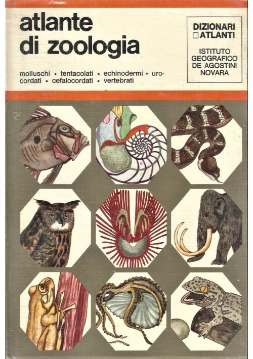 ATLANTE DI ZOOLOGIA 2 volumi a cura di Umberto Parenti 1971 De Agostini