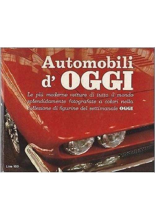 AUTOMOBILI D OGGI album figurine (84 su 100) OGGI Rizzoli anni '70