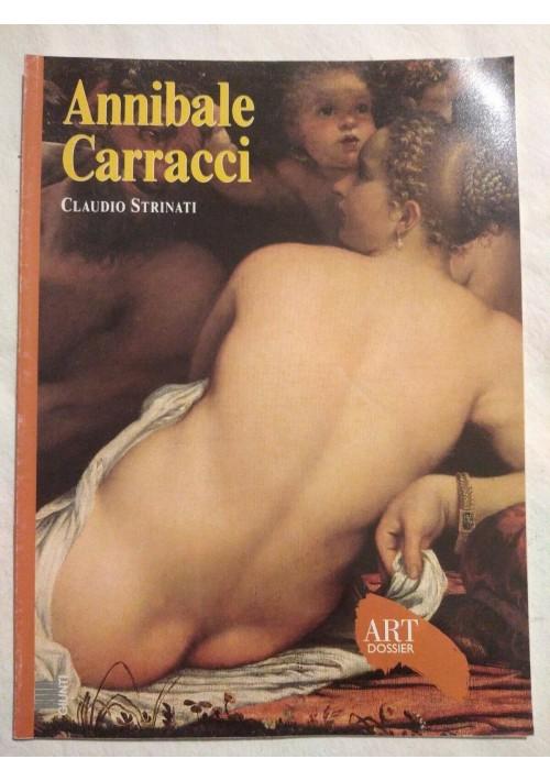 Annibale Carracci di Claudio Strinati rivista Art Dossier Giunti MONOGRAFIA