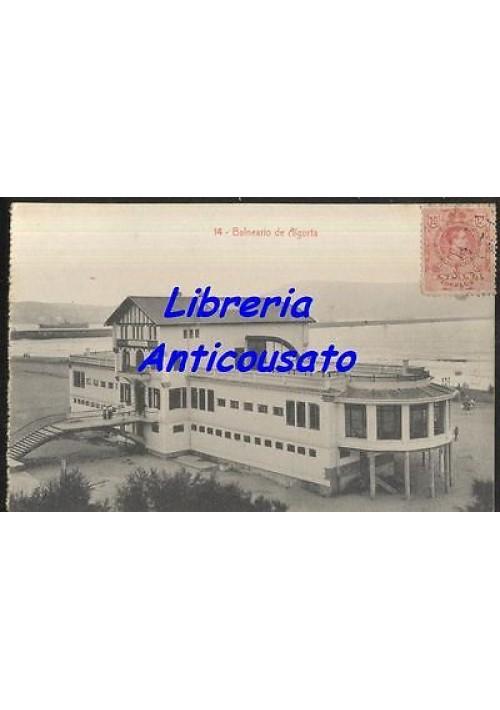 BALNEARIO DE ALGORTA - CARTOLINA  - Viaggiata presum. anni '20 SPAGNA ESPANA
