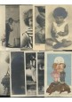 BAMBINI 104 cartoline COLLEZIONE pochi doppioni viaggiate e non colori b/n