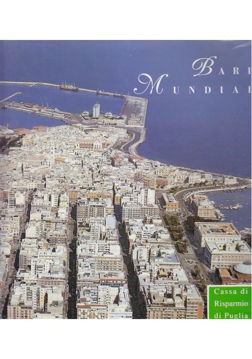 BARI MUNDIAL 1990 Editrice Delphos cassa di risparmio di Puglia in 4 lingue