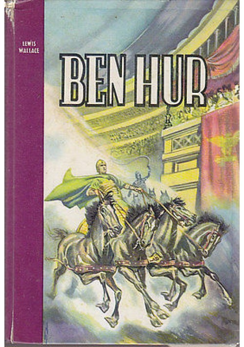 BEN HUR di Lewis Wallace - 1957 Paoline