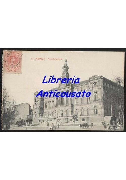 BILBAO Apuntamiento  - CARTOLINA  - Viaggiata presum. anni '20 - ORIGINALE