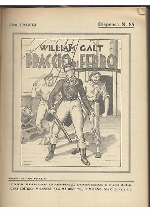 BRACCIO DI FERRO William Galt Luigi Natoli MASTRO BERTUCHELLO I MORTI TORNANO *