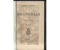 BRANDELLI serie terza di Olindo Guerrini 1883 Sommaruga