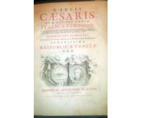 C. JULII CAESARIS QUAE EXTANT OMNIA ITALICA VERSIONE 1737 Giulio Cesare Venezia