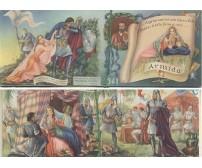 CALENDARIETTO DA BARBIERE 1941 ARMIDA- KALIKLOR VALLI come nuovo profumato