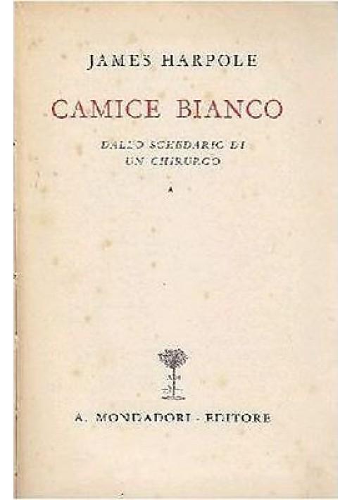 CAMICE BIANCO DALLO SCHEDARIO DI UN CHIRURGO di James Harpole 1941