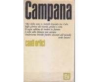 CANTI ORFICI E ALTRI SCRITTI di  Dino Campana - Vallecchi 1966 I edizione