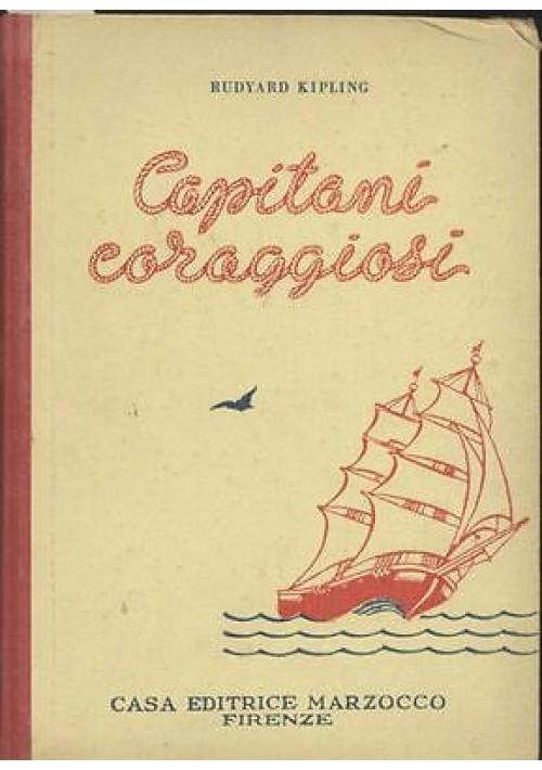 CAPITANI CORAGGIOSI di Rudyard Kipling 1951 Marzocco illustrato Nicouline