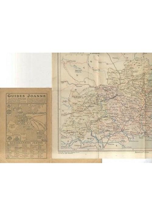 CARTES DEPARTEMENTALES DE L'HERAULT Paul Joanne 1908 Hachette  *