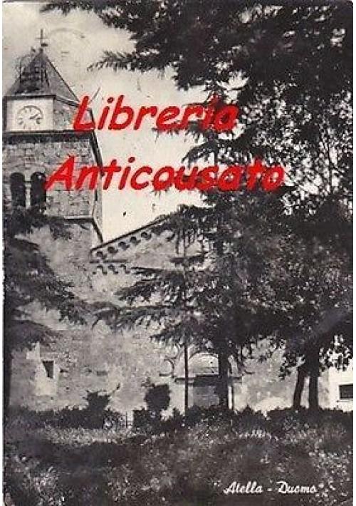 CARTOLINA - ATELLA - DUOMO -originale viaggiata 1963 - lucida