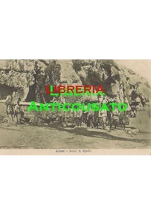 CARTOLINA CIRENE FONTE DI APOLLO (LIBIA ITALIANA ) non viaggiata ORIGINALE