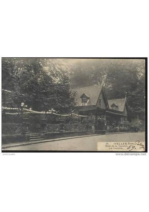 CARTOLINA IXELLES - Bois de la Cambre. La laiterie - Viaggiata 1920? Francia