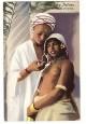 CARTOLINA NELLA LIBIA ITALIANA Domanda d'amore non viaggiata colori