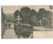 CARTOLINA PEGLI VILLA PALLAVICINI  VIAGGIATA 20/12/1903 formato piccolo