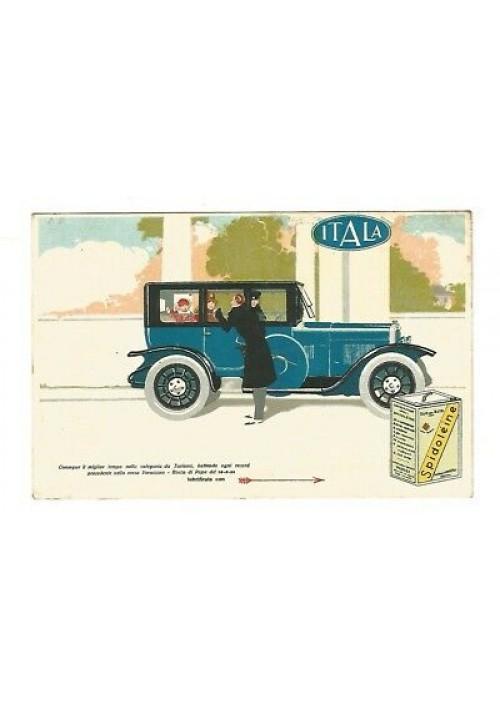 CARTOLINA SPIDOLEINE ITALA non viaggiata originale anni '30