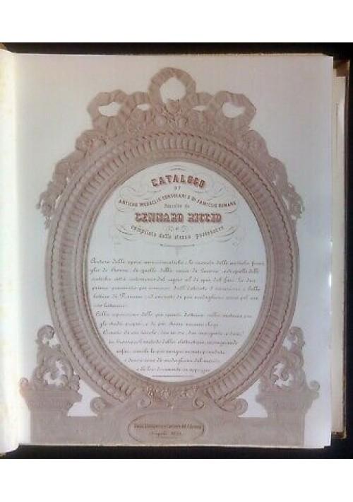 CATALOGO DI ANTICHE MEDAGLIE CONSOLARI E DI FAMIGLIE ROMANE Gennaro Riccio 1855