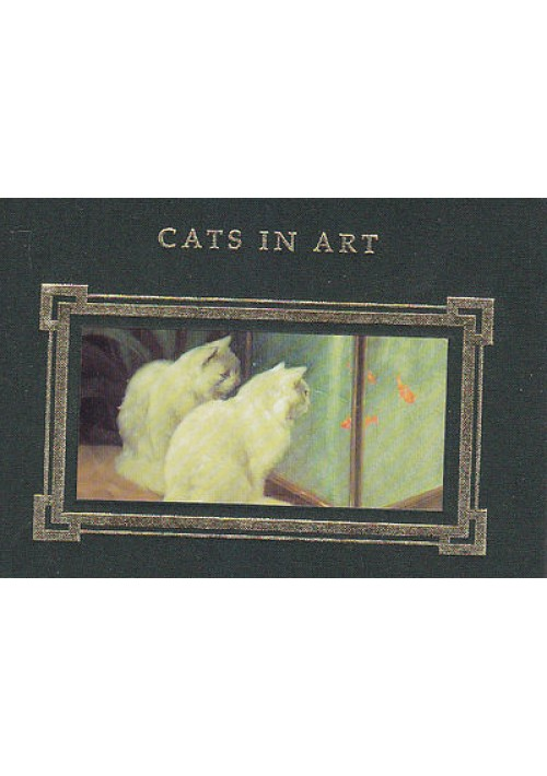 CATS IN ART compiled bi Caroline Bugler 1994 STUDIO Editions illustrato