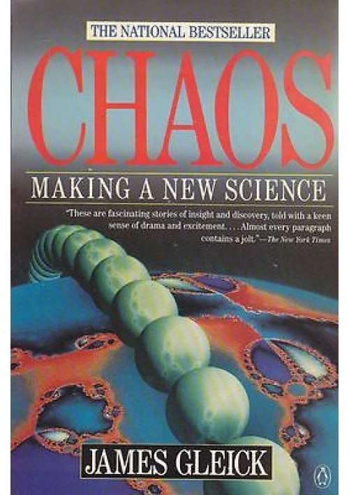 making a new science in james gleicks chaos Chaos: making a new science by james gleick in chm, fb3, txt download e-book welcome to our site, dear reader all content included on our site, such as text, images, digital downloads and other, is the property of it's content suppliers and protected by us and international copyright laws.