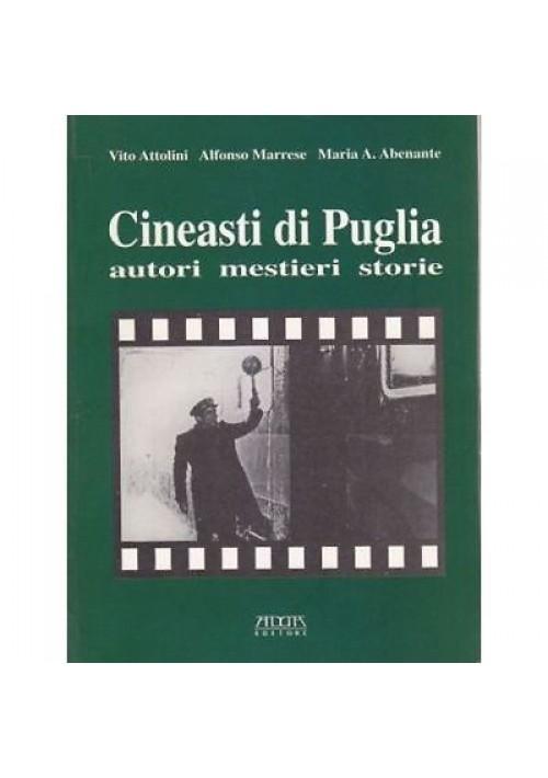 CINEASTI DI PUGLIA AUTORI MESTIERI STORIE Attolini Marrese Arenante 2006 Adda