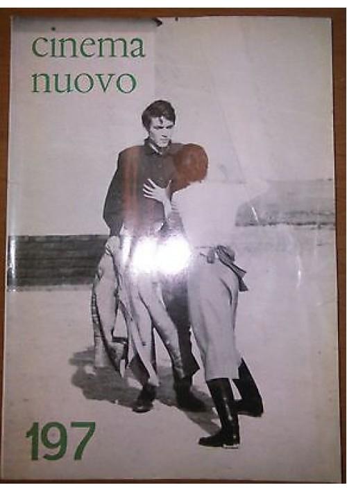 CINEMA NUOVO N 197 Gyorgy Lukacs Ferrero Corbucci Oldrini  gennaio febbraio 1969