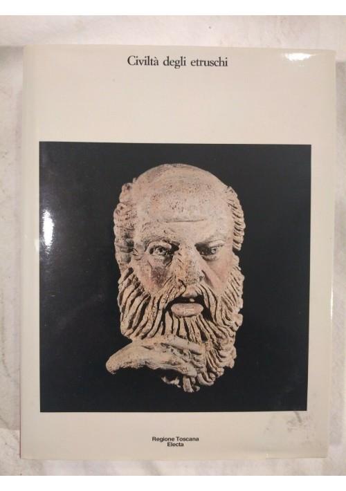 CIVILTÀ DEGLI ETRUSCHI Electa 1985 Regione Toscana libro usato Cristiani sugli