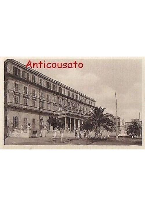 CIVITAVECCHIA GRAND HOTEL DELLE TERME - CARTOLINA ORIGINALE PRESUMIB. ANNI'30