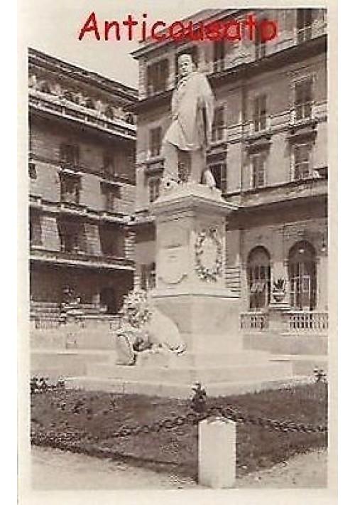 CIVITAVECCHIA monumento A GARIBALDI - CARTOLINA NON VIAGGIATA ORIGINALE ANNI 30
