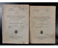CORSO DI FISICA SPERIMENTALE 2 Volumi di D'Aquino  Falanga 1925 libro Scolastico